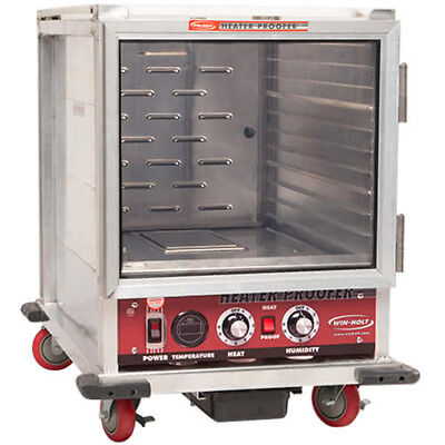 Win-holt Nhpl-1810hhc Half Height Mobile Non-insulated Heater Proofer Cabinet