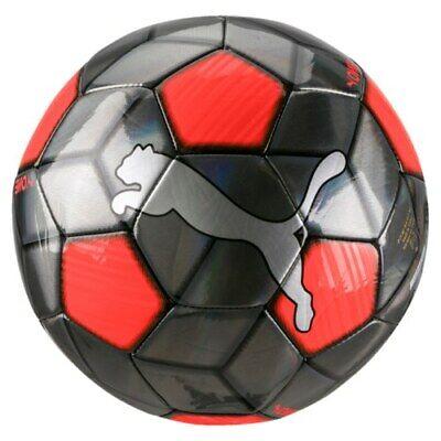 PUMA ONE STRAP FOOTBALL - SIZE 5 BLACK/ORANGE - FREE POSTAGE