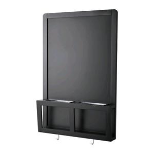 LUNS Tableau magnétique, noir 002.672.40
