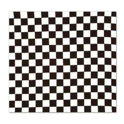 Checkered Bandana Race Car Theme Party Favor Decoration (Race Car Theme)