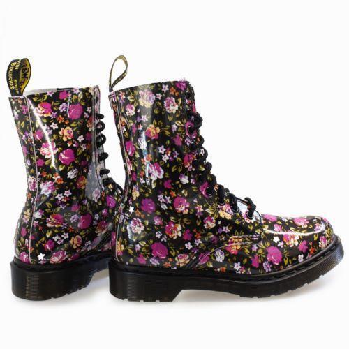 dr martens rose doc martens boots shoes ebay. Black Bedroom Furniture Sets. Home Design Ideas