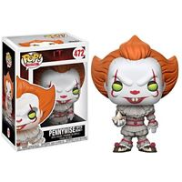 Funko Pop! Pennywise from IT vinyl figure with Boat