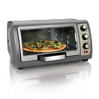 Countertop Toaster Oven Easy Reach W Roll Top Door 6 Slice C