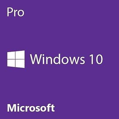 Microsoft Windows 10 Pro Professional 32 Bit 64 Bit Oem Full Version Dvd