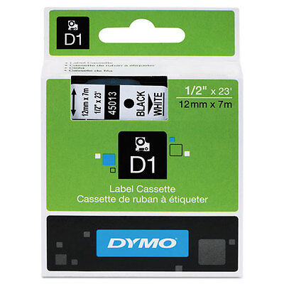 Dymo 12 12mm Black On White Label Tape For Labelmanager 100 Lm100 Lm 100