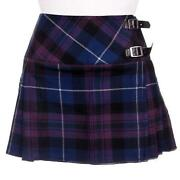 Tartan Micro Mini Skirt