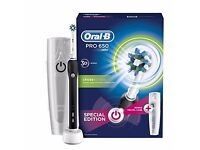 Oral b electric toothbrush