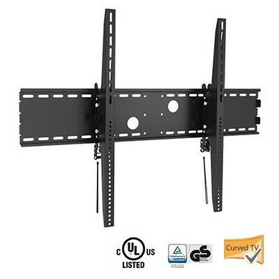 "Tilt TV Wall Mount 60"" to 100"" inch Flat Panel LCD LED Plasma X-Large Curved"