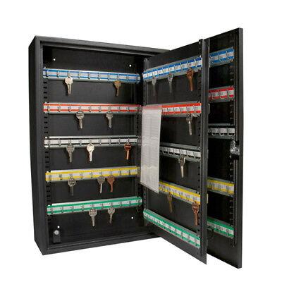 Barska 200 Heavy Duty Key Hook Wall Mount Safe W Key Lock In Black Ax11824