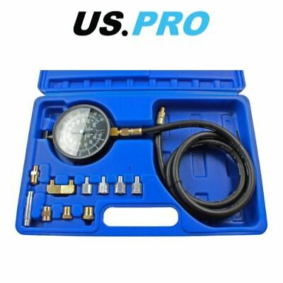 US PRO Auto Transmission Engine Oil Pressure Tester Gearbox Gauge Tool Kit Set