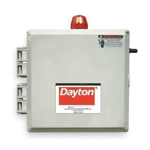 DAYTON 2PZG8 Motor/Pump Control Box (MSC)
