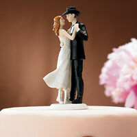 A Sweet Western Embrace Cake Topper - 50% OFF
