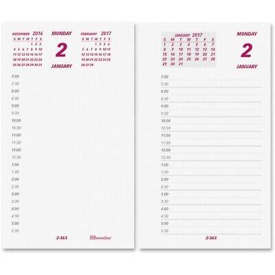 Brownline Daily Desk Calendar Refill, 6 x 3-1/2, EA - REDC2R