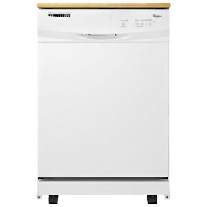 Whirlpool Portable Dishwasher -- Only a few months old, like new