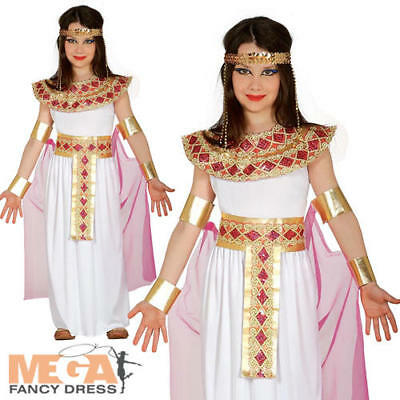Ancient Egypt Costumes For Girls (Egyptian Queen Girls Fancy Dress Ancient Egypt Princess Cleopatra Kids Costume)