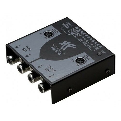 HIFONICS High-To-Low Level Converter HCV4 - 4-Kanal High Low Adapter
