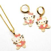 Hello Kitty Gold Necklace