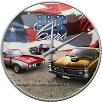Orologio Da Muro Vintage Design Us Cars -  - ebay.it