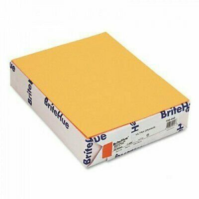 Britehue Multipurpose Colored Paper 24lb 8-12 X 11 Ultra Orange 500ream By Str