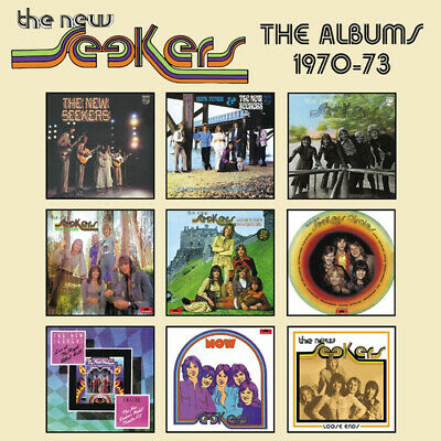 The New Seekers : The Albums 1970-73 CD Box Set 5 discs (2019) ***NEW***