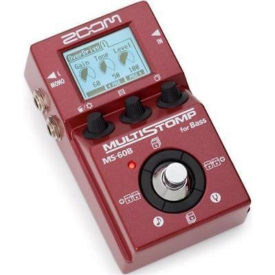 Zoom MS-60B MultiStomp Multi Effects Pedal