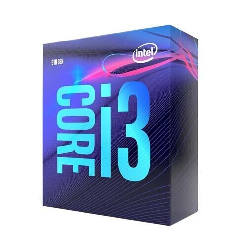 Intel Core i3-9100 4 Cores up to 4.2 GHz LGA1151 Desktop Pro