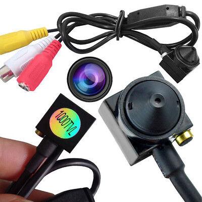 Mini CCTV Spy Camera 1000TVL Color Video Security Audio Cam Hidden Indoor