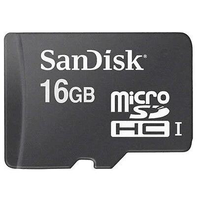 New SanDisk 16GB Class 4 MicroSD MicroSDHC SD SDHC TF Flash Memory Card 16 GB G