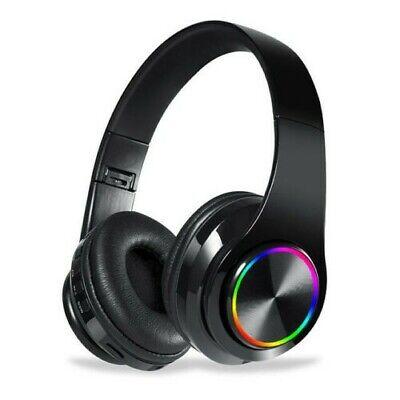 Funkkopfhörer Stereo On Ear Kabellos Kopfhörer Bluetooth 5.0 Für TV PC Phone MP3