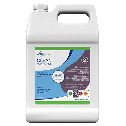 Aquascape Clean for Ponds Beneficial Bacteria, 1 Gallon