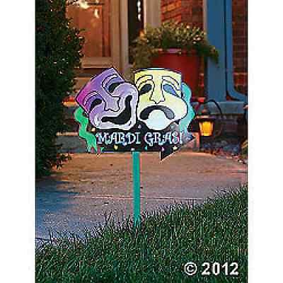 Mardi Gras Yard Sign / 1 PC / MARDI GRAS (31/162)