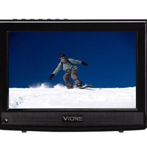 """Portable TV 10.2"""" LCD Rechargeable"""