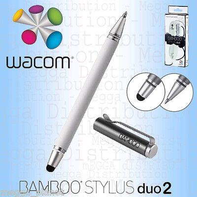Wacom Bamboo Duo 2-in-1 Universal Touchscreen Digital Stylus + Ballpen