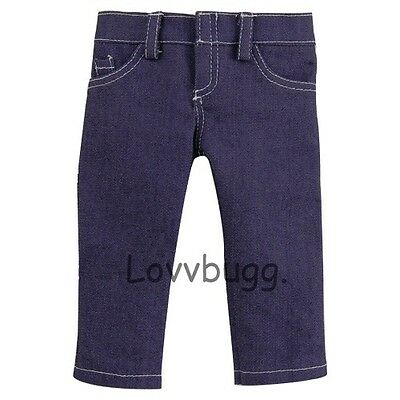 Lovvbugg Purple Jeans Pants for 18' American Girl Doll Clothes