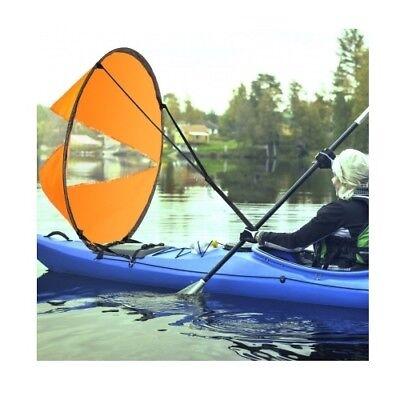 Foldable Kayak Boat Wind Sail Paddle Board Sailing Canoe Tandems Sailboat 108cm