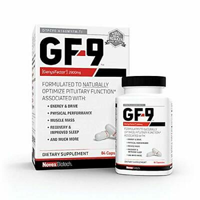 GF-9 – 84 Count - Supplements for Men - Male Supplements - Boost Critical Pep...