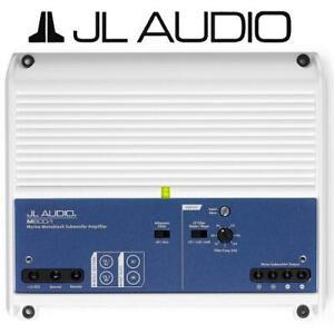 NEW JL AUDIO MARINE SUBWOOFER AMP M600/1 236520523 600W MONOBLOCK SUB AMPLIFIER