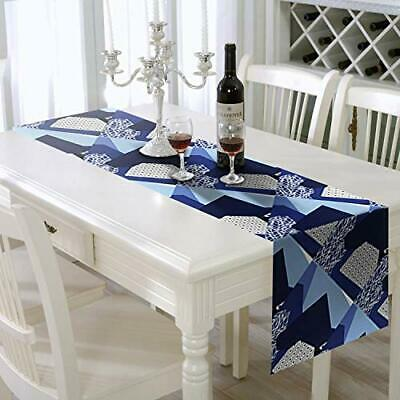 "Table setting Runner 14"" X 108"" Print  great for table setting contemporary"