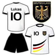 Deutschland Hose