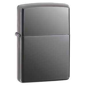 Zippo 150, Black Ice Chrome Finish Lighter, Full Size