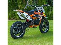 Mini dirt bike 50 cc mini moto new!!!