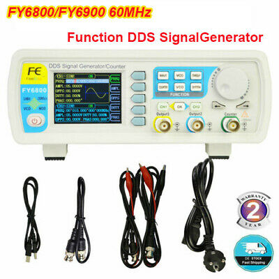 Fy6800fy6900 Function Dds Signal Generator Frequency Arbitrary Waveform 60mhz