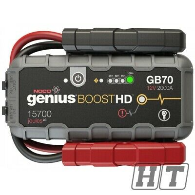 START AID NOCO GB70 BOOST HD 2000A 12V JUMP STARTER FOR SCOOTERS MOTO