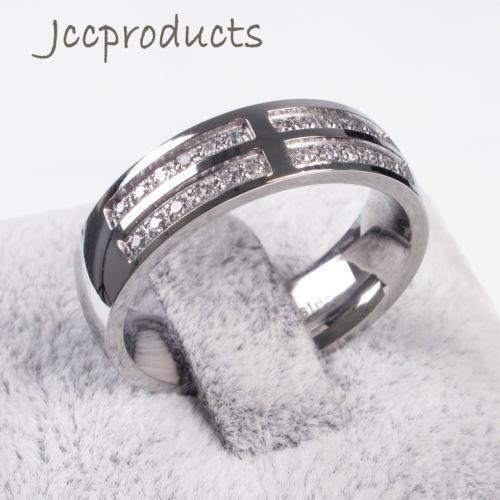 Womens Stainless Steel Wedding Bands