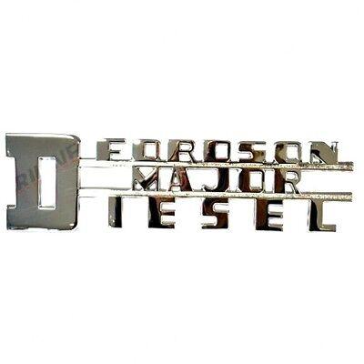 Fordson Major Diesel Badge. High Quality