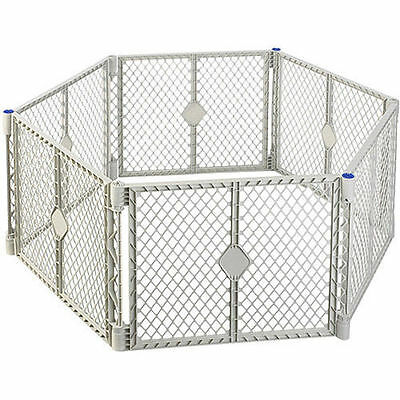 NEW NORTH STATES SUPERYARD XT BABY GATE PLAY YARD PEN CRIB PLAYPEN SAFETY GATE