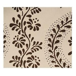Sister parish dolly white dark brown wallpaper 12 for Wallpaper rolls for sale