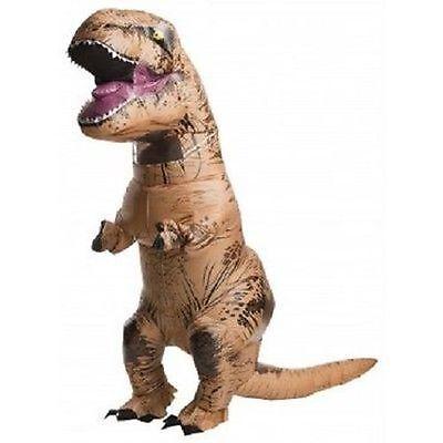 Rubini Adulto Jurassic World Gonfiabile T- Rex T-Rex Costume Halloween 810481