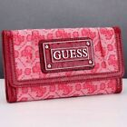 GUESS Canvas Wallets for Women