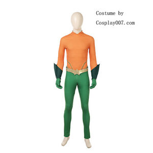DC comics Aquaman 2 Arthur Curry cosplay costume